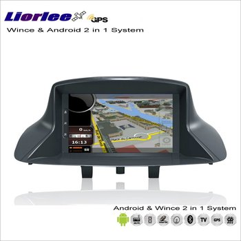 Liorlee For Renault Megane III/Scenic III 2010-2013 Car Android Radio CD DVD Player GPS Navi Map Navigation Audio Video Stereo image