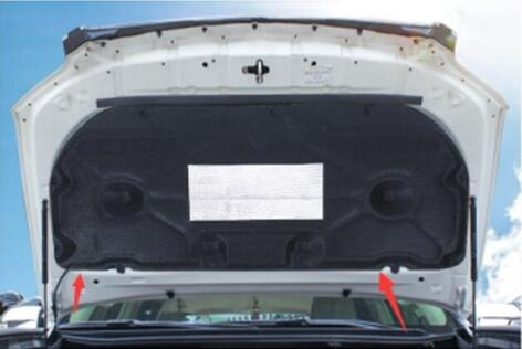 Dedicated  10-19 For Toyota Prado The Installed Cover Acoustic Insulation Cotton Engine Cover Thermal Insulation