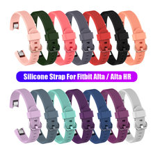 Correa de repuesto de silicona para reloj Fitbit Alta / Alta HR pulsera con correa de muñeca Accesorios