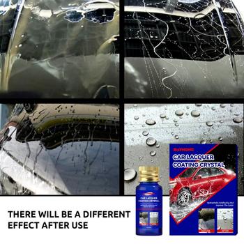 Nowe samochodowe nano-ceramiczne poszycie powłoka kryształowa lakier samochodowy poszycie powierzchni kryształ łatwe do czyszczenia i ochrony konserwacja samochodu tanie i dobre opinie DONBOMMLIDS CN (pochodzenie) Folia ochronna do malowania