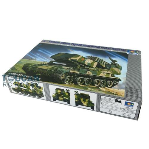 <font><b>Trumpeter</b></font> 00307 1/35 Chinese 122MM 89Type Artillery Rocket Law Missile Model Kit TH05275-SMT2 image