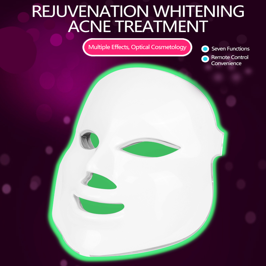 Led Therapy Photon Skin Rejuvenation Instrument Beauty Cold Light Mask For Face Skin Management Facial Beauty Home Beauty Salon