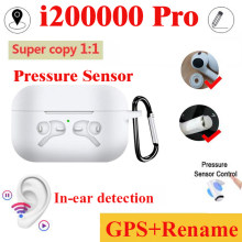 Asli I200000 Tws 1:1 Copy Aire 3 Nirkabel Bluetooth Earphone Earbud PK I500 I10000 I20000 I100000 I100000 Pro Tws(China)