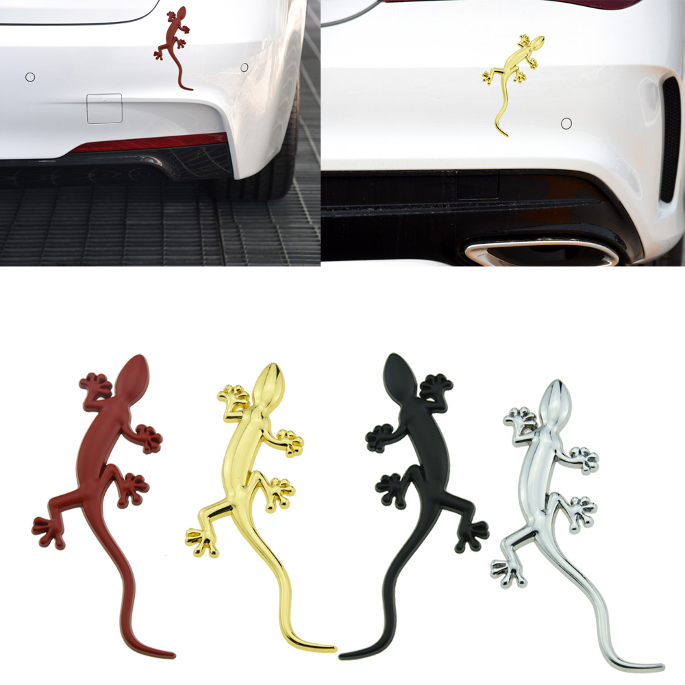 For AUDI A3 A5 A6 A8 Q3 Q5 Q7 RS4 S5 S6 S8 S Line Gecko Lizard Car Badge Sticker