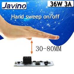 Датчик сканирования на короткие расстояния, датчик развертки, переключатель, модуль 36 Вт, 3 А, постоянное напряжение для автоматического