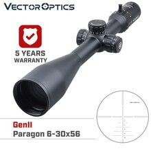 Vector Optics Gen2 Paragon 6 30x56 Jacht Riflescope Tactische Optic Scope 1/10 Mil 90% Licht Lange Afstand Nauwkeurig Schieten. 338