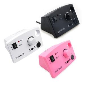 Image 5 - 3 Kleur Nail Boor Machine 35000Rpm Voor Elektrische Manicure Boor Machine & Accessoire Met Frees Elektrische Nagelvijl