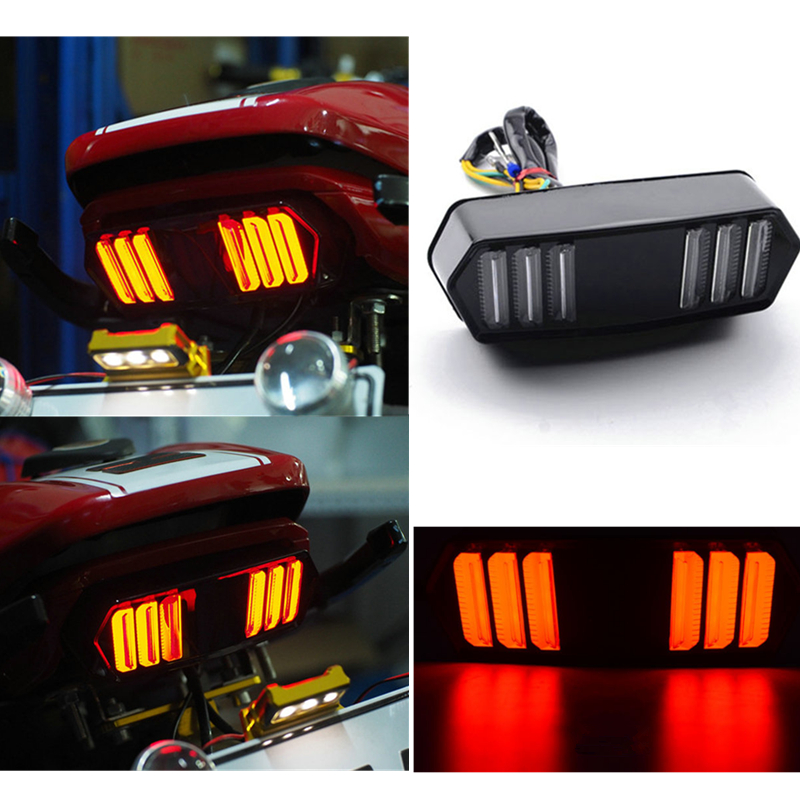 Motorcycle For Honda MSX125 LED Tail Light Indicator Running Stop Brake Rear Warning Turn Signal Lamp CBR650F CTX700 CTX700N
