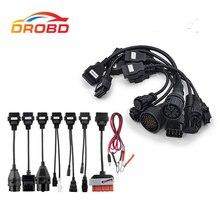CDP TCS per auto e per cavi per camion set completo 8 pezzi obdII OBD2 cavi per multidiag pro mvd scanner OBD2 strumento dignostic per auto