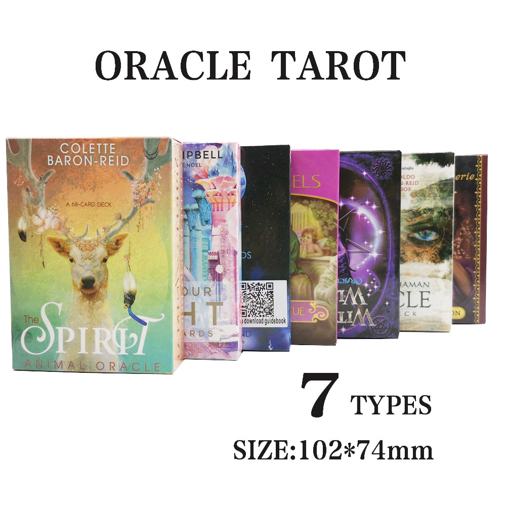 Creative Tarot Cards Oracle Game Card Family Holiday Party Playing Cards English Tarot Game Cards Board Games Set