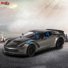Maisto 1:24 2017 Corvet Alloy Racing Convertible alloy car model simulation decoration collection gift toy