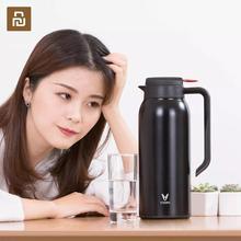 2019 جديد Youpin VIOMI الحرارية القدح 1.5L مكنسة من الفولاذ المقاوم للصدأ 24 ساعة قارورة زجاجة كوب الطفل في الهواء الطلق الحرارية للمنزل الذكي