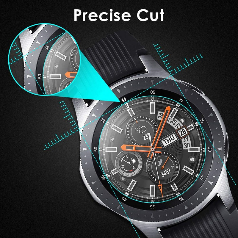 3pcs Tempered Glass For Huawei Watch GT 2 46mm protective Glass For huawei GT2 band Screen Protector Film Smartwatch accessories 3