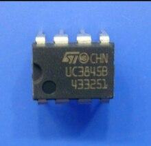 Xinyuan 10 PÇS/LOTE UC3845B DIP-8 UC3845A DIP8 UC3845AN UC3845BN UC3845 DIP IC novo e original