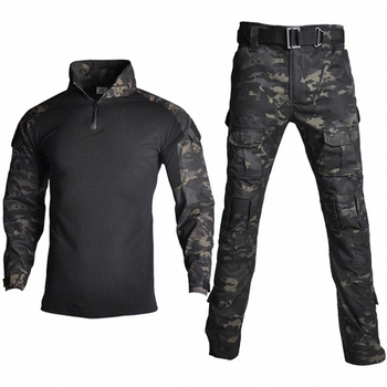 Military Uniform Tactical Camouflage Clothes Suit Men US Army Clothing Women Airsoft Military Combat Shirt Cargo Pants Knee Pads 11