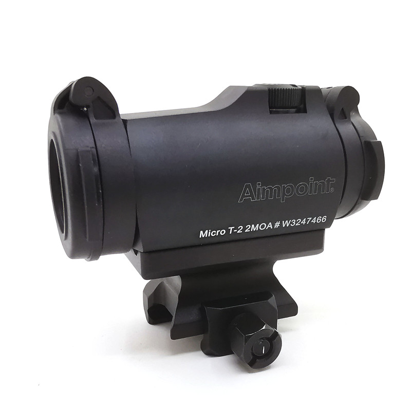 SOTAC-GEAR Tactical Rifescope Sight 2MOA T2 Sight Illuminated Sniper Red Green Dot Sight With Quick Release Red Dot Scope 5