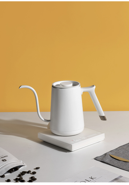 Smart Electric Temperature Controlled Goose Neck Kettle 4
