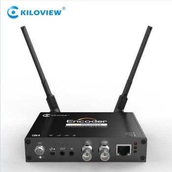 Kiloview wireless h264 hd sdi to ip streaming encoder, sdi to 4g, wifi, Lan encoder u8vision 8 in 1 h 264 hdmi to ip video encoder live streaming encoder hd encoders h264 with udp hls rtmp rtsp http onvif