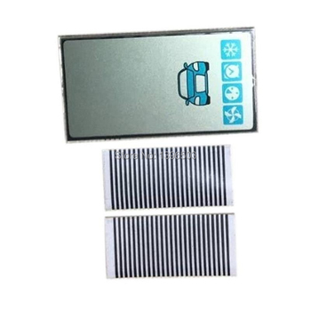 100 Pcs/lot A93 GSM display Vertical screen For 100PCS Starline A93 GSM lcd display Remote Control Zebra Stripes Flexible Cable