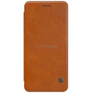 Image 1 - Nillkin For Samsung Galaxy Note FE Fan Edition Case Qin PU Flip Case For Samsung Galaxy Note FE Fan Edition Case Back Cover