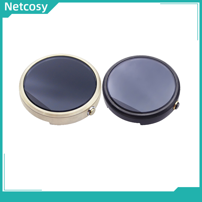 Netcosy 42mm 46mm tela lcd para moto 360 relógio 1st gen 2 display lcd + montagem da tela de toque para moto 360 gen 1st/2nd 42mm 46mm