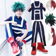 Mon héros académique Boku pas de héros Cosplay Costume hommes femmes école uniforme Sport Costume t-shirt pantalon Izuku Midoriya Todoroki Shouto
