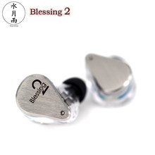 Moondrop Blessing2 In-ear Earphone 4BA+1DD Hybrid Driver 2Pin 0.78mm Hifi IEM with Detachable Cable Earbuds