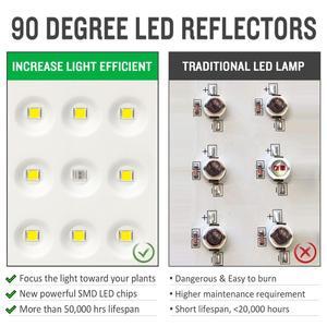 Image 4 - 3000W Led לגדול אור 2000W 1000W ספקטרום מלא LED לגדול אורות מקורה גידול מנורת פנל עבור צמח פרח זרעי לגדול אוהל Fito