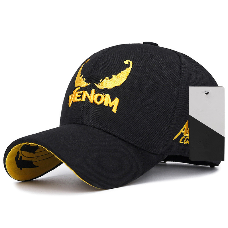 2019 New Venom Embroidery Baseball Cap Couple Hip Hop Cotton Hat Fashion Golf Hats Outdoor Sports Caps
