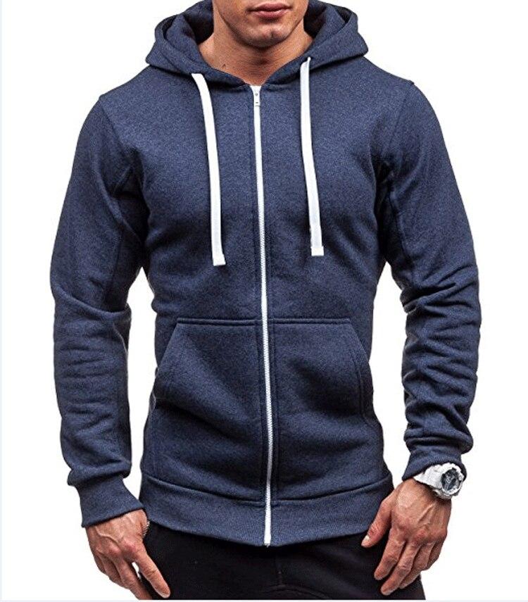 MRMT 2020 New Men's Hoodies Sweatshirts Zipper Hoodie Men Sweatshirt Solid Color Man Hoody Sweatshirts For Male