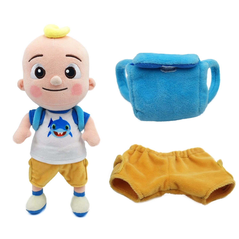 BIG JJ Music Plush Doll Cocomelon Pillow Soft Toys for Baby Plush JJ Doll Educational Stuffed Sing Toys Cute Kids Gift 6