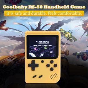 Image 2 - RS 50 Video oyunu konsolu dahili 500 oyunları elde kullanılır oyun konsolu Retro Tetris nostaljik oyun oyuncu çocuk için en iyi hediye