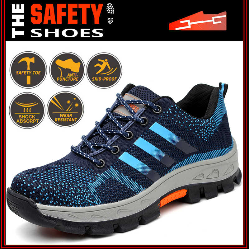 Safety Shoes With Steel Toe Cap Work