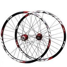 Набор колес для горного велосипеда PASAK MTB 26/27, 5/29 дюймов, герметичные подшипники, ступицы из сплава, диски дискового тормоза 32H