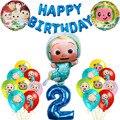 1 комплект Cocomelon украшение для торта на день рождения на тему