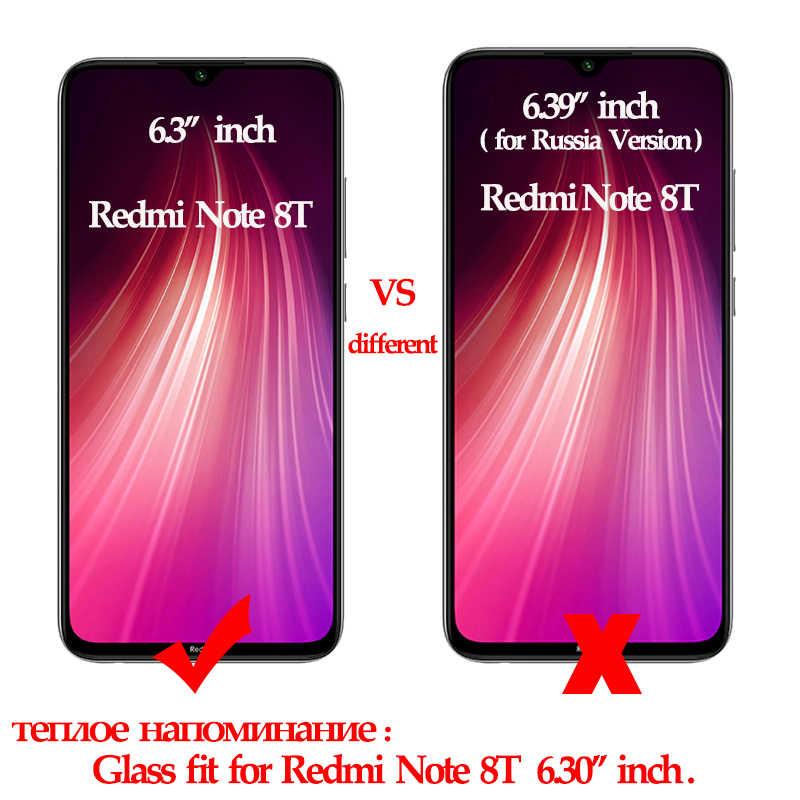 3 イン 1 ケース + カメラクリスタル、 pelicula 、 cтекло 、ガラス用 redmi note 8 8t nfc screenprotector redmi-note-8-pro note8 pro のガラスフィルム redmi note8 pro glass
