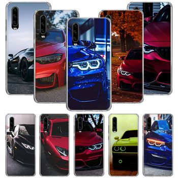 Blue Red for Bmw Case For Huawei P40 P30 P20 P10 Mate 30 20 10 Pro Lite P Smart Plus + Z Cover Phone Shell Coque image