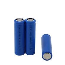 Новинка 3,7 v 600 mah 14500 литиевая аккумуляторная батарея фонарик батареи