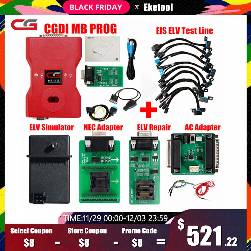 CGDI Prog MB For Benz Support All Key Lost Fastest Add CGDI MB Auto Key Programmer Online Password Calculation Original Upgrade-in Auto Key Programmers from Automobiles & Motorcycles on