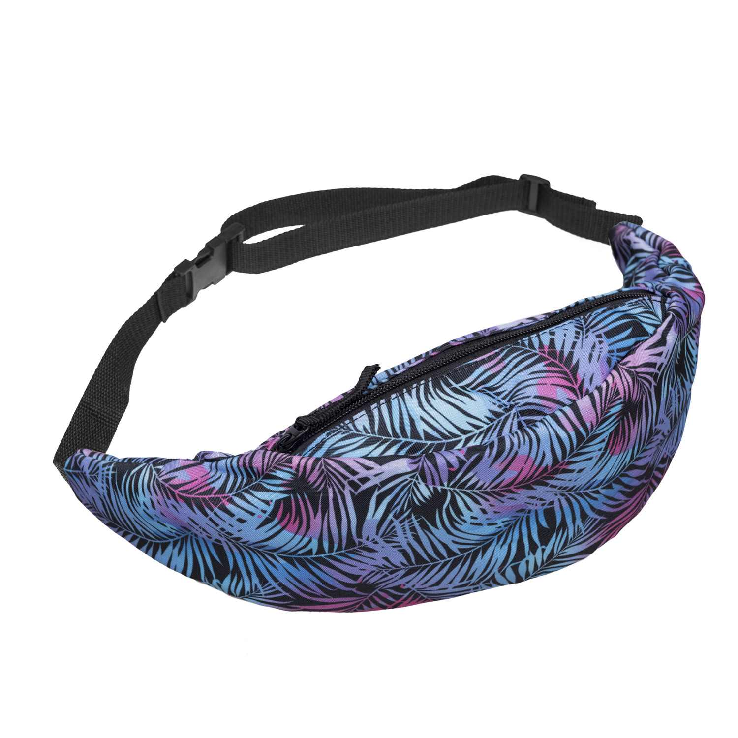 3D Colorful Print Women Waist Bags Girls Fanny Packs Hip Belt Bags Money Travelling Mountaineering Mobile Phone Bag Waist Packs