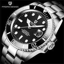 2021 nuovi orologi da polso meccanici automatici da uomo PAGANI DESIGN orologi da sub in acciaio inossidabile orologi in vetro zaffiro Reloj Hombre