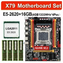 Combo-Kit-Set Processor E5-2620 Kllisre X79 4pcs 4GB 1333 Memory ECC