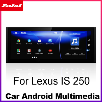 Android Car Multimedia player For Lexus IS 250 2013~2019 WiFi GPS Navi Map Stereo Bluetooth 1080p IPS Screen