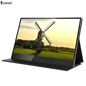 Eyoyo Touch Screen HDR Portable Monitor 4K UHD 3840x2160 IPS 15.6