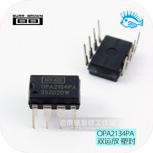 Image 1 - TI BB OPA2134PA DIP8  Dual operational amplifier