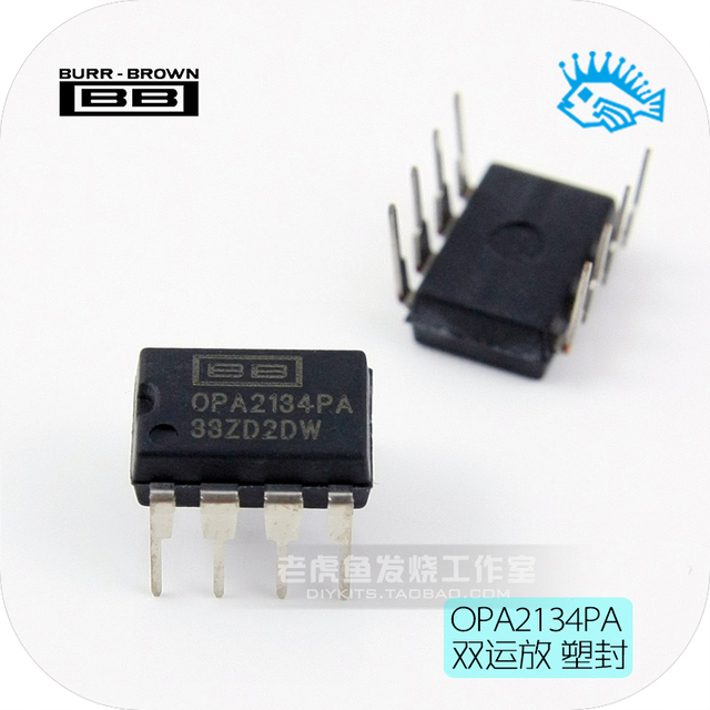 TI BB OPA2134PA DIP8  Dual operational amplifier