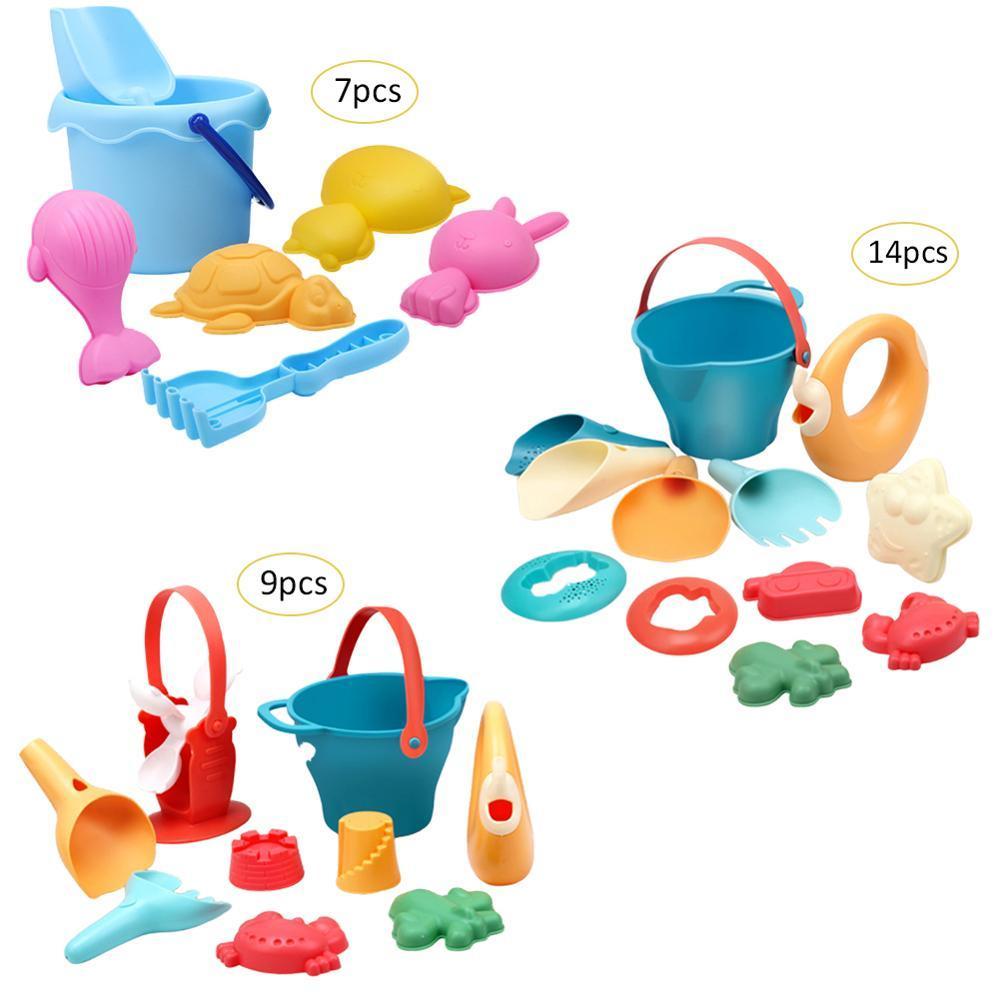 Beach Toys Sand Toy Beach Game Funny Plastic Bathing Playing Sandbox Toys Sand Dredging Sand Set For Children Kids Toddler