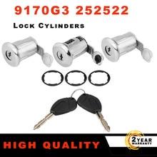 252522 Barrel Door Lock Cylinders Set Two Keys For Peugeot for Citroen Partner Berlingo Xsara Picasso 2001 2002 2003 2004 2005