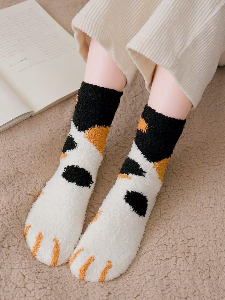 Winter Autumn Women Cotton Cartoon Socks Female Girl Cute Warm Funny 8C