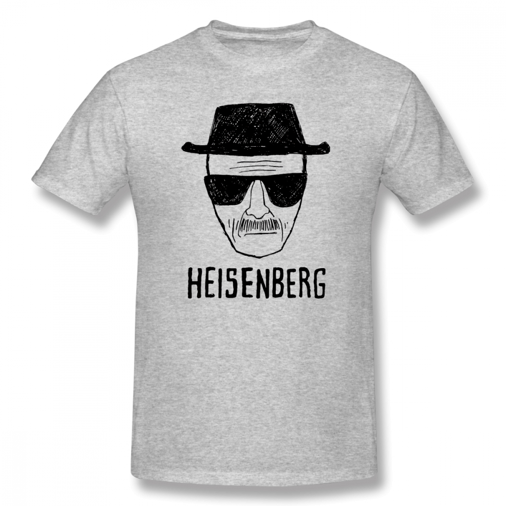 .................. Изображение хайзенберга WW BB .................. изображение хайзенберга Geek Для мужчин классический короткий рукав Футболка R223 футболки Ев...